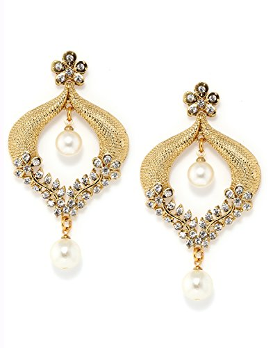 Bindhani Gold-Plated Dangle & Drop Earrings For Women