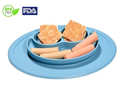 Ventosa in silicone Baby plates-yumay no Mess Toddler & Baby Feeding tovaglietta per la maggior parte dei vassoi per seggioloni