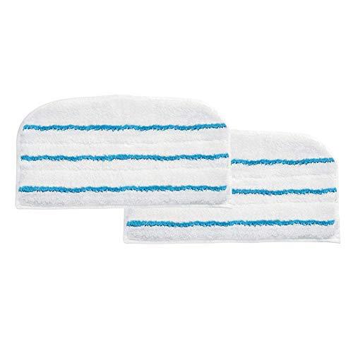 Panno mop, 2confezioni in microfibra Steam mop Clean refill di tamponi di pulizia panno tappetino per Black + Decker FSM1620/1630 Taglia libera 2 Packs