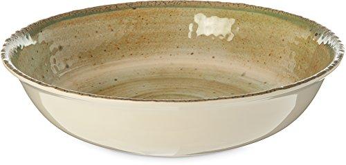 Carlisle Gathering Melamin Schüssel Collection, 4 Quart Serving Bowl, Adobe, 1 Carlisle Collection