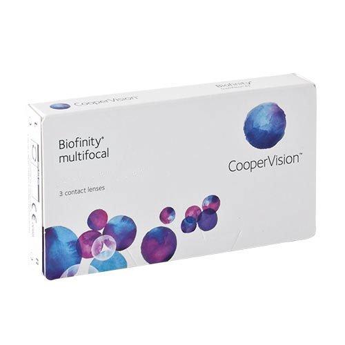 Biofinity Multifocal - N-Profil, Monatslinsen weich, 3 Stück / BC 8.60 mm / DIA 14.00 / ADD MED 2 / -3.25 Dioptrien