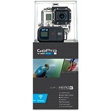 GoPro HERO3 Black Edition Surf - Videocámara de 12 Mp (estabilizador de imagen óptico, vídeo Full HD 1080p, resistente al agua, WiFi) color negro