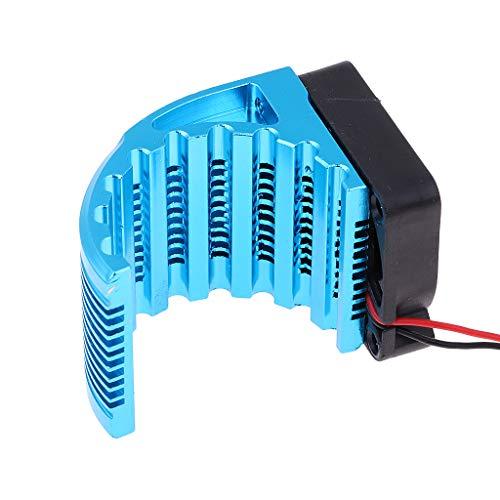 SM SunniMix 4274/4268 Bruhsless Motor Kühlkörper Motorkühlung Kühlerlüfter mit Lüfter Zubehör für RC Auto Modell -