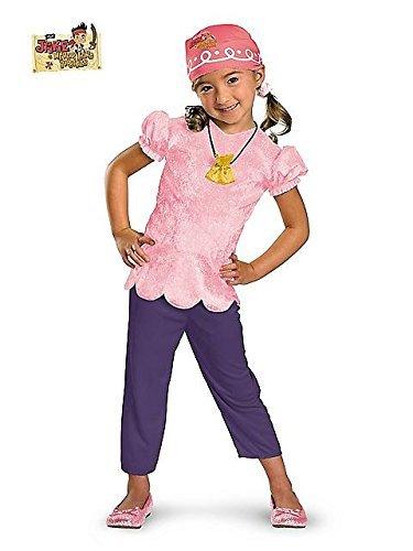 Joy Disney Kostüm - Girls Disney's Jake and the Neverland Pirates Classic Izzy Costume