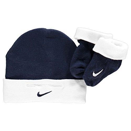 Nike Babies Hat & Booties Set Sw...