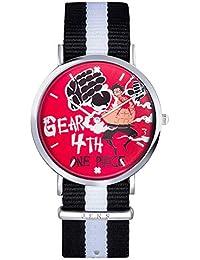Wildforlife Anime One Piece Monkey D Luffy Analog Quartz Watch (Gear 4th)