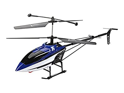 Flying Gadgets 3 Channel (Remote) Radio Controlled T88C Helicopter with Gyro and HD Camera (Large)