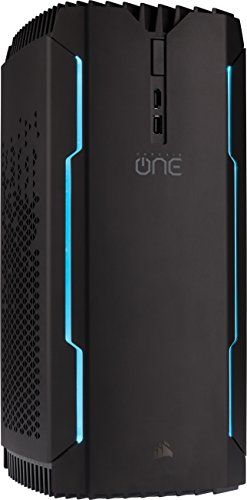 Foto Corsair One Pro Ti Compact Desktop PC da Gaming, Intel Core i7-7700K...