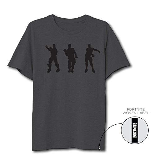 Fortnite Dance Ni/ño Camiseta Negro,