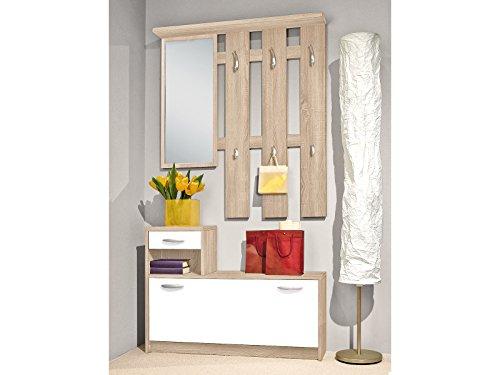 Garderobe Flurmöbel Kompaktgarderobe Garderobenset Dielenmöbel