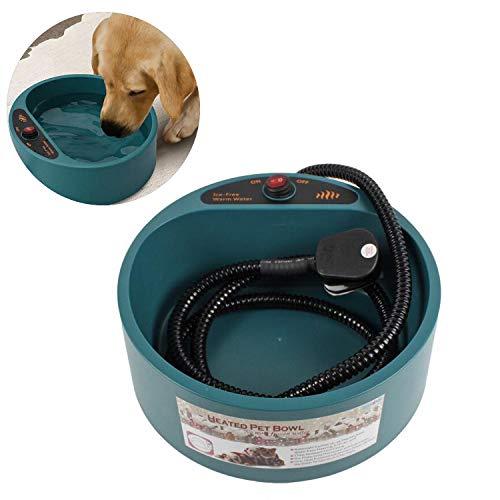 Pet Produkte Heizung Schüssel Hund Plastikschüssel Heißes Wasser Trinkbrunnen Automatische Temperatur Energieeffiziente -