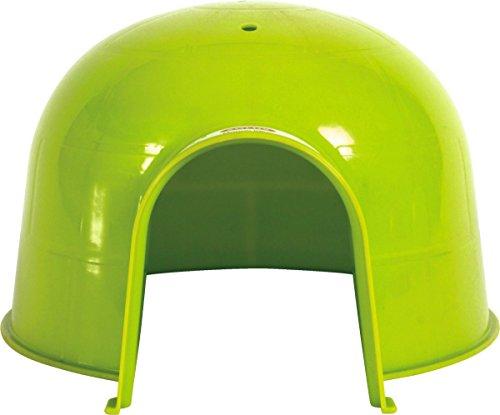 igloo-en-plastique-pour-rongeurs-taille-large-vert-anis-bien-regarder-le-descriptif-pour-les-dimensi