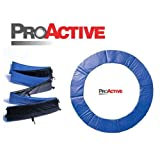 ProActive Top Grade 8ft Blue Trampoline Spring Pad Surround