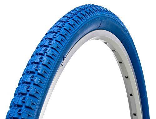 AMIGO {FAHRRADREIFEN 28 Zoll} Fahrrad Reifen | 28 x 1.75 | ETRTO 47-622 | M-700 | Blau