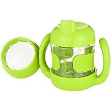 OXO Tot - Vaso 2 en 1 adaptado al crecimiento, color verde