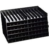 Spectrum Noir SPECN-6 Bandejas de bolígrafos universales Paquete de 6-Negro, 5.81x3.5x9.88 Inches