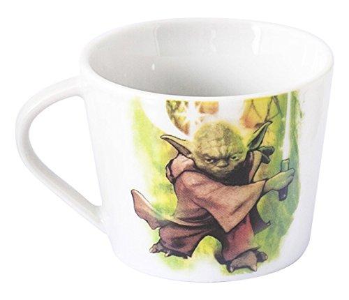 Home Star Wars Tasse Tee Dekor Meister Yoda, Porzellan, mehrfarbig, 11x 9x (Wars Home Star)