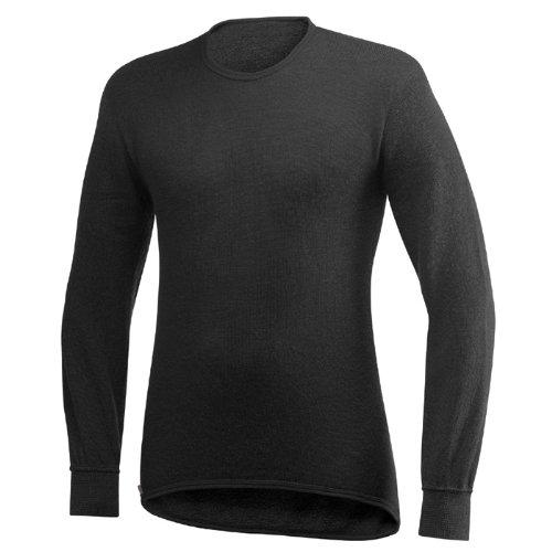 Preisvergleich Produktbild Woolpower® Unterhemd langarm,  schwarz 200 g / m²,  Größe S