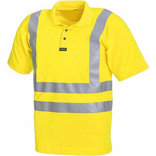 "Blakläder Polo-Shirt ""High-Vis"" Klasse 3, 1 Stück, XXXL, gelb, 331010093300XXXL gelb"