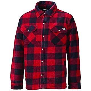 DICKIES Holzfällerhemd Thermohemd PORTLAND (XL, rot/schwarz)