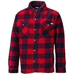 Dickies Shirt Portland Hemd Red-M