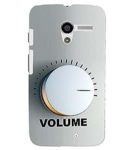 PRINTSHOPPII MUCIS Back Case Cover for Motorola Moto X XT1058::Motorola Moto X (1st Gen)