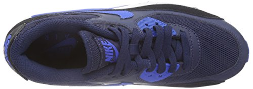 Nike Wmns Air Max 90 Essential, Scarpe sportive, Donna Azul (401 midnight navy/sr-blk-pr pltnm)