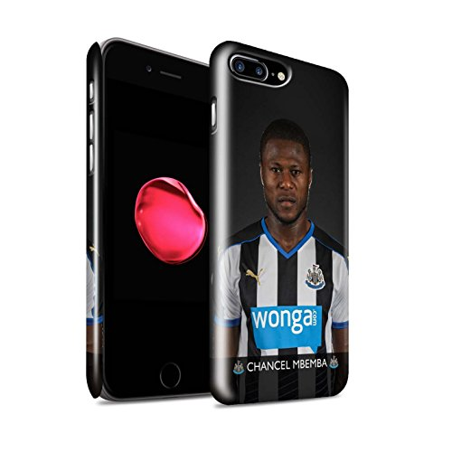 Officiel Newcastle United FC Coque / Clipser Brillant Etui pour Apple iPhone 7 Plus / Sissoko Design / NUFC Joueur Football 15/16 Collection Mbemba