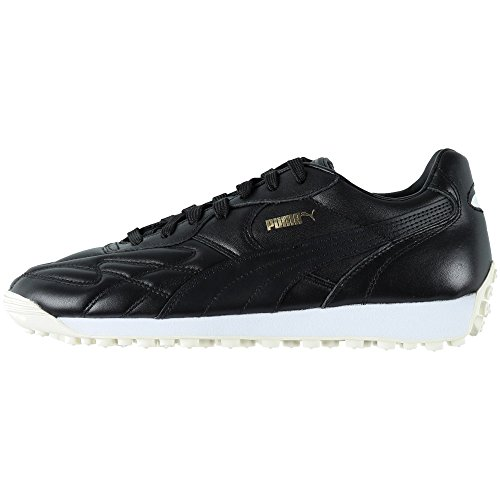 Puma Herren King Avanti Sneaker Black/Team Gold, Größe 44 -