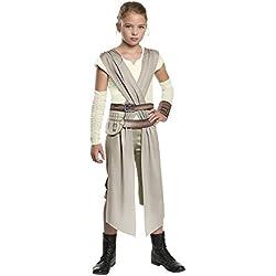 Star Wars Disfraz Rey classic infantil, talla M (Rubie's Spain 620083-M)