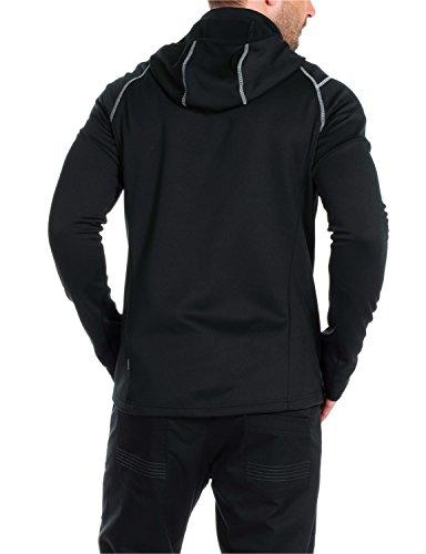 Jack wolfskin free me veste en polaire pour homme iI pour homme Noir - noir