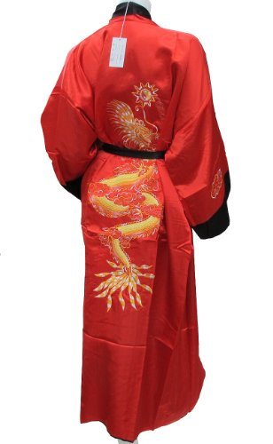 cool-unisexe-kimono-vetements-double-face-soie-chinoise-dragon-peignoir