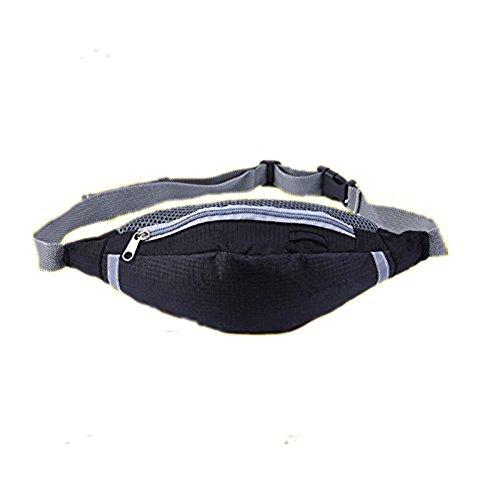 EQLEF® Multi-Fonctionnel Pocket Sport Sac de Taille Courir Sacs de caméra Voyage Sac de Taille de Ceinture
