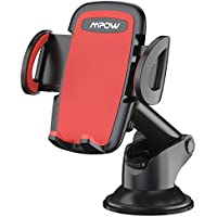 Phone Holder for Car, Mpow Dashboard Phone Mount with Telescoping Long Arm, Cars Mount with Strong Suction Cup and Quick Release Button Car Cradle for iPhone X/10 8 7 6 6 Plus 5 Galaxy Samsung S9 S8 S7 Nexus HUAWEI P20 and Others - ukpricecomparsion.eu