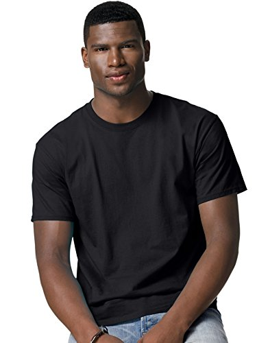 hanes-adulto-ecosmart-maglietta-black-xxl