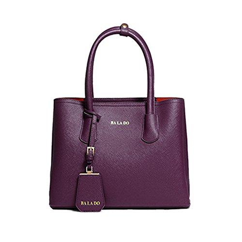 Mzstech Ladies Fashion Designe Celebrity Tote Bag Donna Vendita Caldo Alla Moda Borsa A Tracolla (viola) Viola