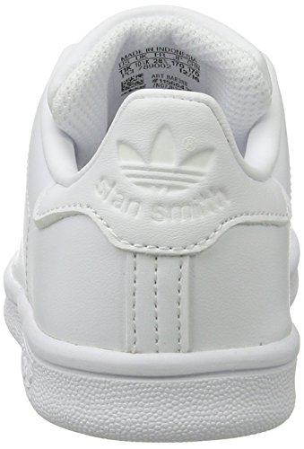 adidas - Stan Smith, Scarpe basse Unisex – Bambini Bianco (Footwear White/footwear White/footwear White)