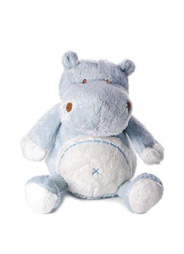 Bebé infante peluche animal de felpa juguete azul hipopótamo para recién nacido bebé niño