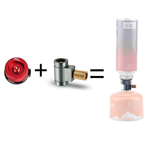 Automatische Gas-ventil (Lixada Ventil Kanister Shifter Nachfülladapter + Gas Kopfkonvertierung Adapterdüse. (Gaskanister Nicht Enthalten))