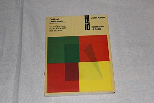Interaction of Color. Grundlegung einer Didaktik des Sehens Buch-Cover