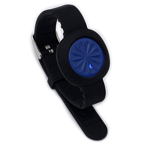 Greatfine Ersatzarmband Standard-Armband für Jawbone UP Move Aktivitäts Zubehör (schwarz)