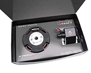Allumage digital à rotor interne ARTEK K2 Racing avec lumière pour Derbi D50B0, EBE, EBS