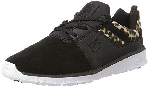 DC Shoes Heathrow Se Se, Scarpe da Ginnastica Basse Donna, Nero (Animal), 36 EU