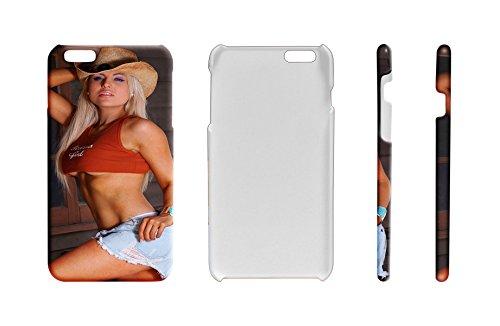 (LEotiE SINCE 2004 Handy Schale Passend für iPhone 7 Sexy Girl Sexy Girl Pin up Blond)