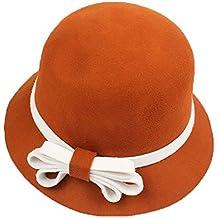 Aifulai Cappello da Pescatore per Cappelli di Lana Pura per l autunno e l  a810c7a1a006