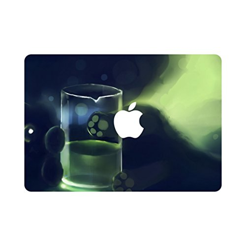 (kikhorse Kreative Cartoon Kollektion Ultra Dünne Hülle Hart für MacBook Pro 15 Zoll Aluminium Unibody mit CD-ROM Drive Modus: A1286 Trinkender Bär)