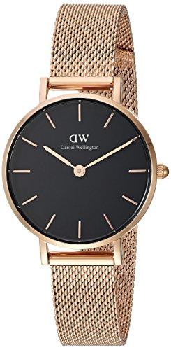 Daniel Wellington DW00100217 -  Reloj Analógico para Mujer de Cuarzo con Correa en Acero Inoxidable