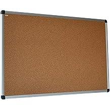 40x60 cm Pinnboard mit einem Holzrahmen Korktafel Pinnwand Korkpinnwand 40x60 cm