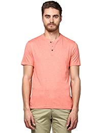 Park Avenue Men's Solid Regular Fit T-Shirt
