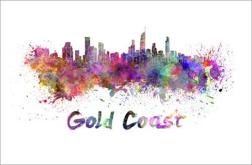 poster-100-x-70-cm-gold-coast-skyline-von-colourbox-hochwertiger-kunstdruck-neues-kunstposter